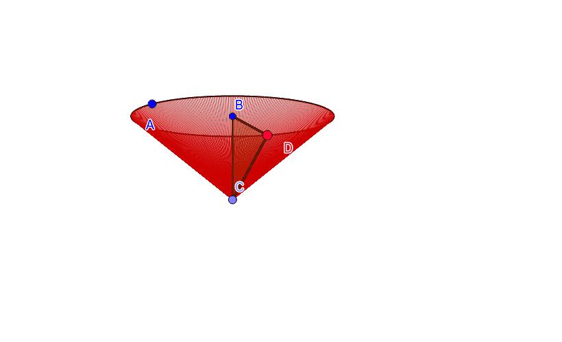 Cono recto (su eje es perpendicular a la base) Presiona Intro para comenzar la actividad