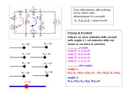 kirchhoff-metodo della sostituzione