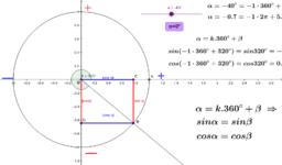 Синус и косинус на обобщен ъгъл