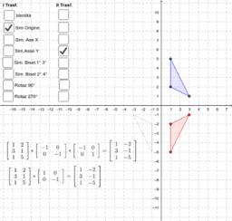 Isometrie - Prodotto di trasformazioni