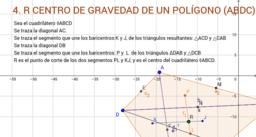 4. Centro de Gravedad de un Polígono
