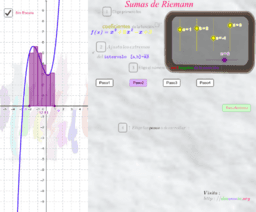 Sumas de Riemann por la izq.