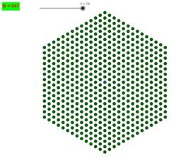 Nombres Hexagonaux centrés (reprise)