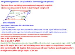 Parallelogramma Dimostrazione