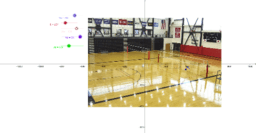 Projectile motion and volleyball