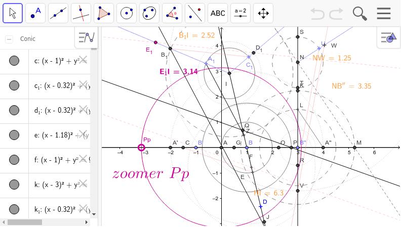 pi d'après une formule de Ramanujan