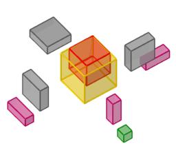 (a - b)³ geometrisch betrachtet