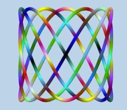 Curvas de Lissajous en el espacio