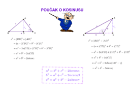 Poučak o kosinusu