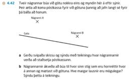 Bæir við póstkassa