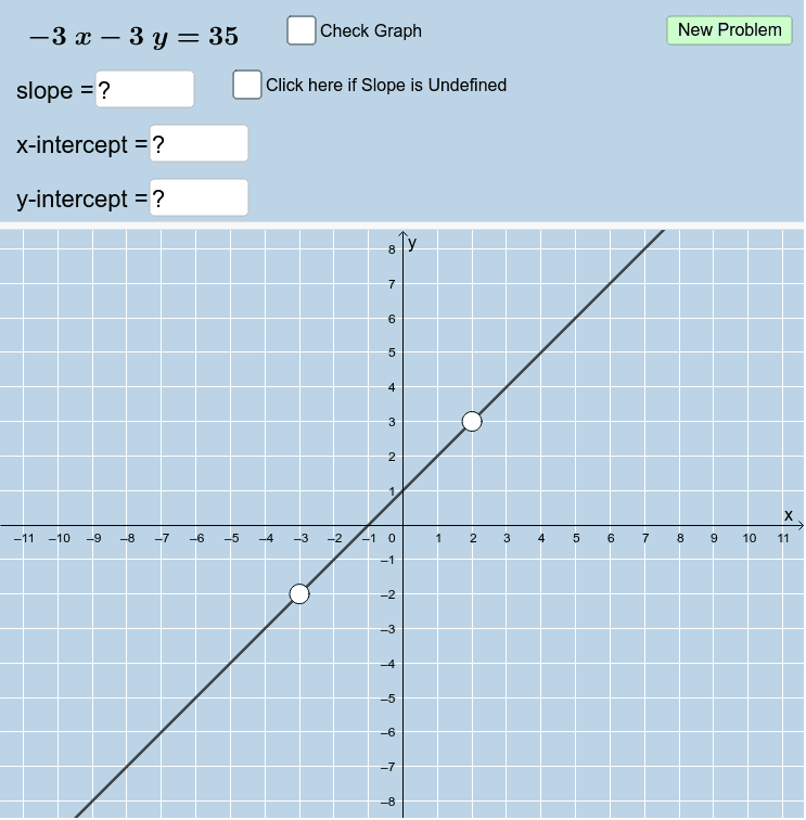 Working With Linear Equations Written In Standard Form Quiz V2 B