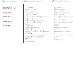 Joint Probability_Step By Step_Calculation