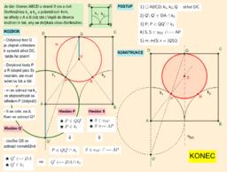 Čtverec a 2 čtvrtkružnice - vepiš kružnici