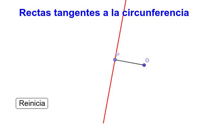 Rectas Envolvente de una circunferencia Presiona Intro para comenzar la actividad