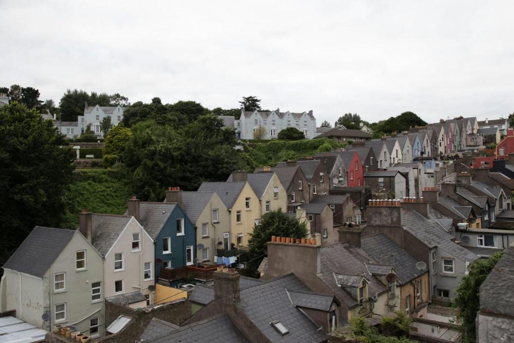 En un barrio de Cork (Irlanda)