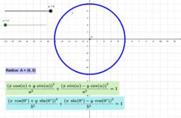 General Equation of Circle (origin)