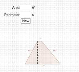 PRACTICE: Finding Area and Perimeter of trapezoids