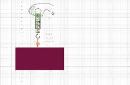 Fysik 1 Kapitel 2 Krafter lyft boll med snören från bord - dynomometer
