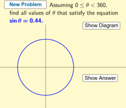 Problem Generator: Trigonometric Equations
