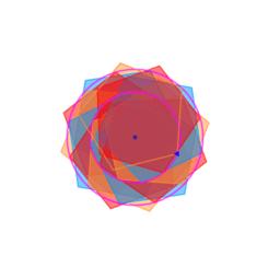 Pentagonal fower animated(RO)