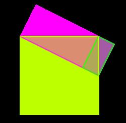 Una possible composició de figures serien un quadrat i dos rectangles: