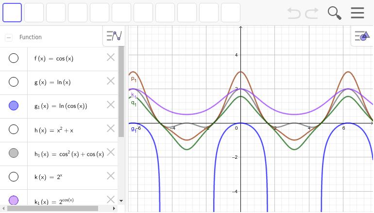 どんな関数でもx=cos(x)とすると、偶関数になる。