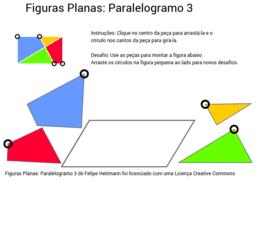 Figuras Planas: Paralelogramo 3
