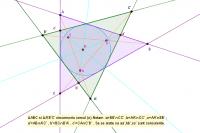 2 Triunghiuri circumscriu un cerc
