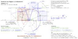 Quadratrix des Hippias vs. π/4-Quadratrix, Ansicht 2 von 2