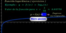 Función logarítmica base 6 ( ejercicios )