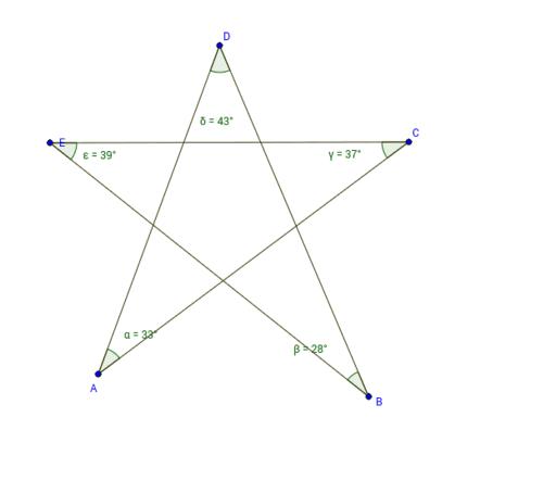 Estrella De Cinco Puntas Geogebra