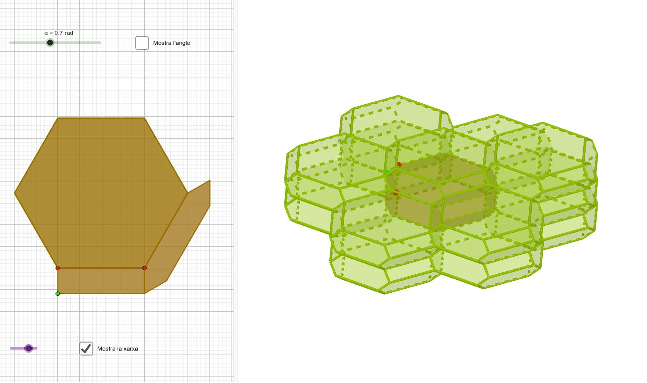 El tetrakaidecaedre axafat Premeu Enter per iniciar l'activitat