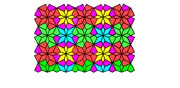 Pythagorean Tessellation # 134 Tiling