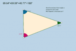 Angle Sum Triangle