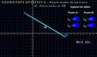 Geometría analítica ( punto medio 2 )