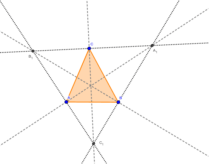 Gibert Point X(24)= Perspector of Triangle ABC and the Triangle of the reflections of the Prasolov Point X(68) in the sides of the Excentral Triangle.