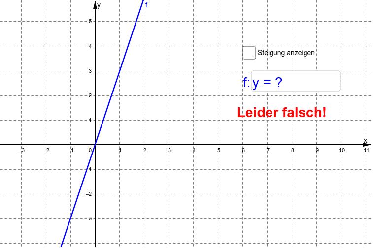 """Bestimme die Funktionsgleichung! Achtung bei Dezimalzahlen verwende """"."""" statt """",""""."""