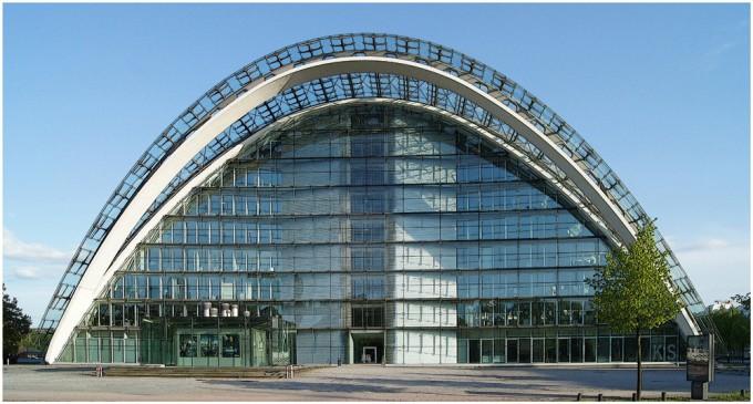 """Bürogebäude """"Berliner Bogen"""" in Hamburg"""