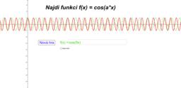 Uhodni funkci f(x)=cos(a*x)