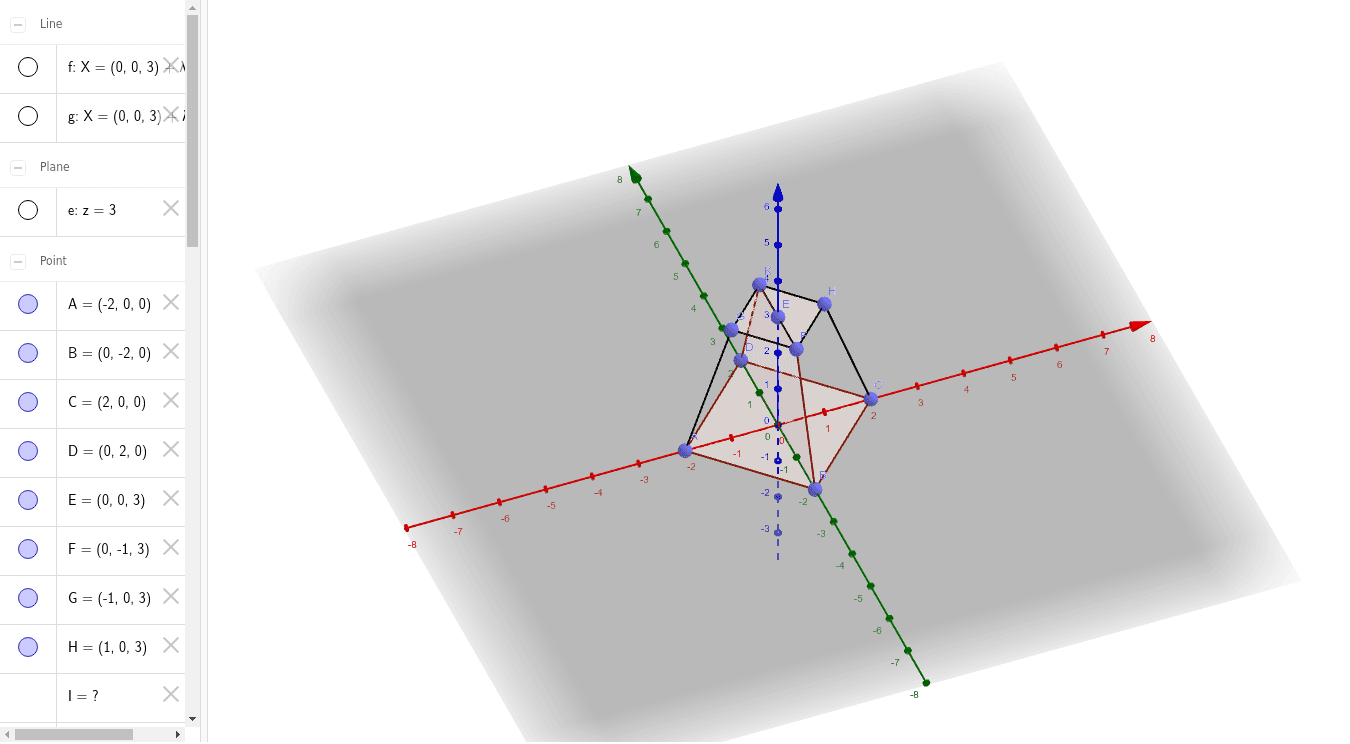 248.     Determine the spatial diagonal of a regular four-sided truncated pyramid, if the surface areas of the bases are B1=8 and B2=2, and the volume of this truncated pyramid is V=28