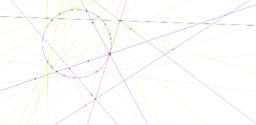 構造切線 / construct the tangent line
