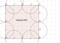 Kuvion pinta-ala MAA3 CAS