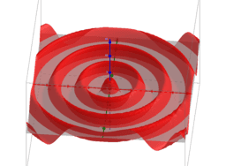 Circular wavefronts (converging)