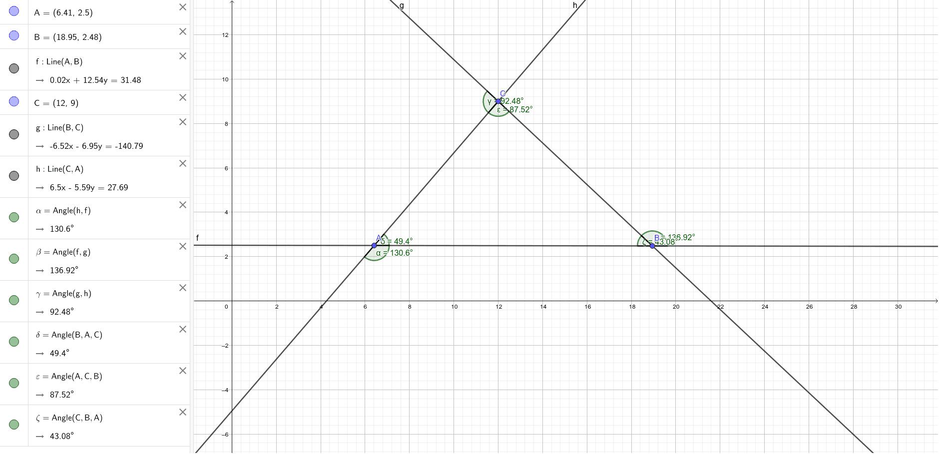 Збир спољашњих и унутрашњих углова троугла Pritisnite Enter kako bi pokrenuli aktivnost