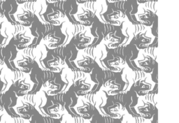 Escher's Dog Tessellation 2