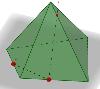 Побудуйте переріз піраміди площиною МРК