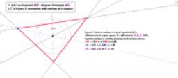 costruire il triangolo partendo da 3 punti generici.