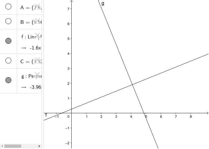 Set Path (Line in this example) perpendicular to a given line f Press Enter to start activity