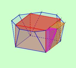Volumen de un cuenco poliédrico