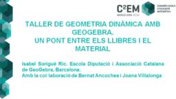 C2EM. Taller iniciació geometria dinàmica